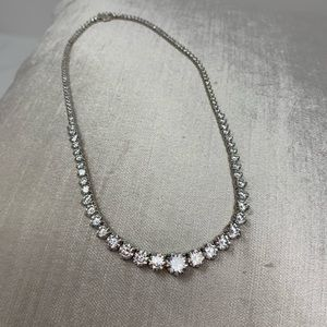 Bling it on bundle..CZ necklace and earrings